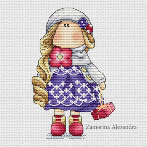"Cross stitch design ""Tilda Maria"""
