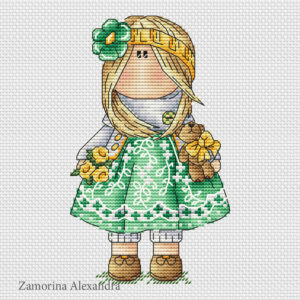 "Cross stitch design ""Tilda Marta"""