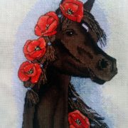 Horse with Poppies3