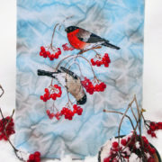 Bullfinches on the Snowball Tree4