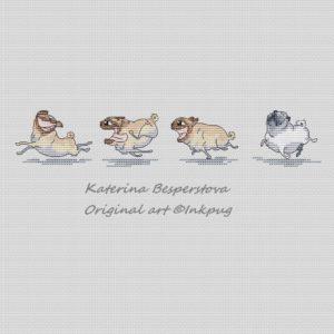Pugs lambs