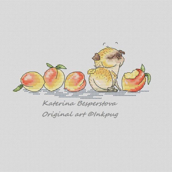 Pug is a Peach