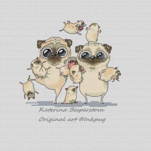Pug's Family