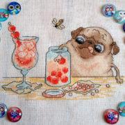 Pug Cherry jam