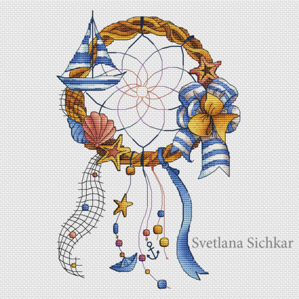 Sea Dream Catcher