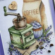 Coffee grinder with lavender