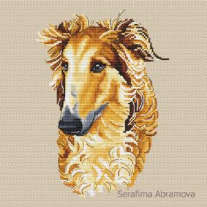 Russian Hound Greyhound