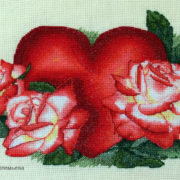 Heart with roses2