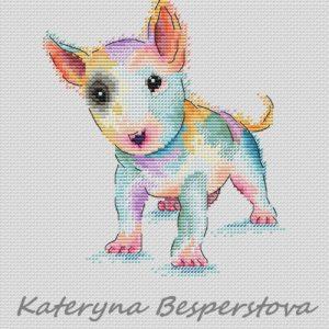 Bull Terrier Bullka