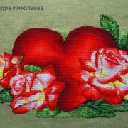 Heart with roses1