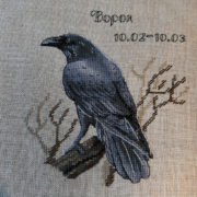 Slavic Horoscope. Raven1