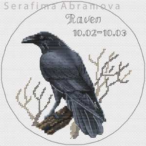 Slavic Horoscope.Raven