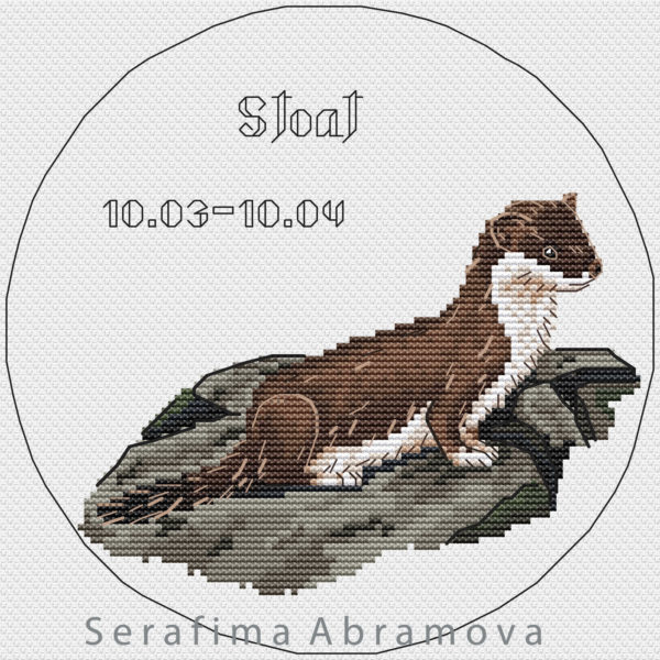 Slavic Horoscope. Stoat