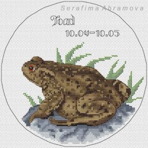 Slavic Horoscope.Toad