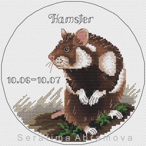 Slavic Horoscope. Hamster