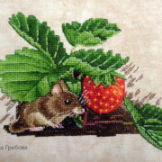 Mouse in Strawberries2