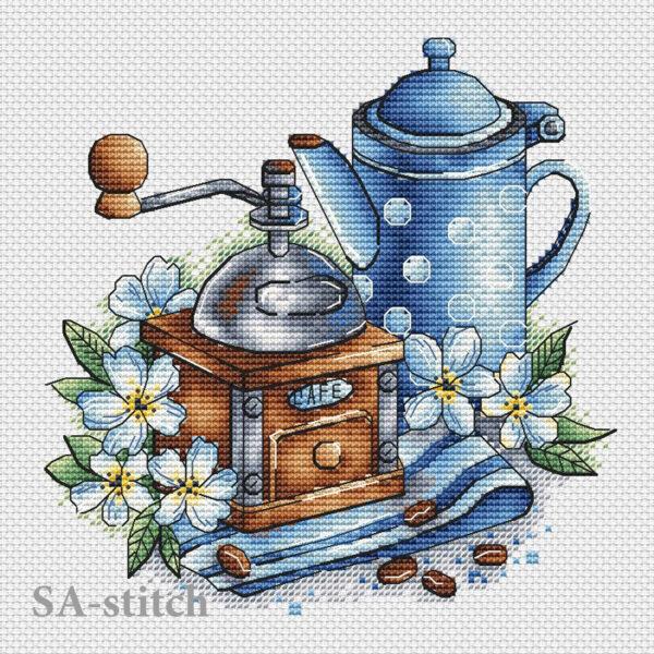 Кофемолка с жасмином