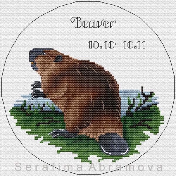 Slavic Horoscope. Beaver
