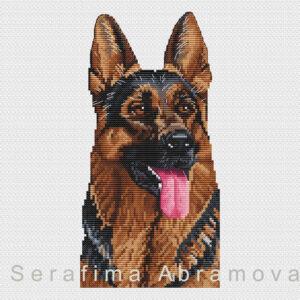 Dogs. German Shepherd