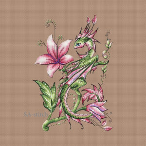 Flower dragoness