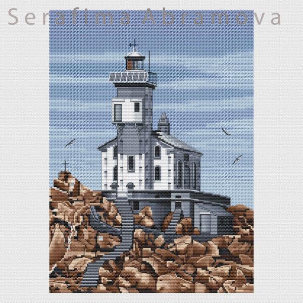 Lighthouse Tevennec