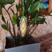 Icicle Christmas Tree Ornament
